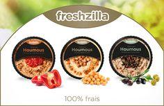 Freshzila - Dips & Salsa on Behance