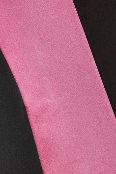 Prada - Satin-trimmed Silk-taffeta Coat - Black - IT44