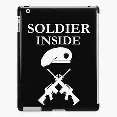 'Soldier Inside - ready for war - ' iPad Case/Skin by RIVEofficial Ipad 4, Ipad Case, Lip Designs, Iphone Wallet, Sell Your Art, Custom Design, Product Launch, War