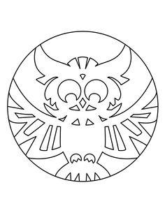 Owl-Template-7.jpg (650×841)