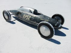 """The """"Old Crow"""" Belly tank, Bonneville 2010 - photo by Coby (www.carsnotculture.com)"""