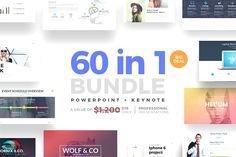 60 in 1 Bundle Powerpoint + Keynote