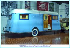 1937 Pierce-Arrow Travelodge Model A | Flickr - Photo Sharing!