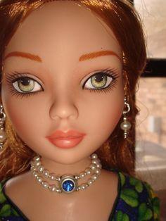 Tonner Ellowyne Evangeline Di Quarter Bjd MSD 16 Inch Doll Jewelry Set  89 Asstd Stones