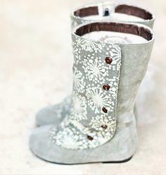 Callista Faux Suede Boots by Joyfolie. Little Girl Boots, Baby Boots, Baby Girl Shoes, My Little Girl, My Baby Girl, Girls Shoes, Kids Boots, Toddler Boots, Infant Toddler