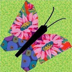 Flighty Friends paper pieced quilt block patterns INSTANT DOWNLOAD PDF. $3.25, via Etsy.