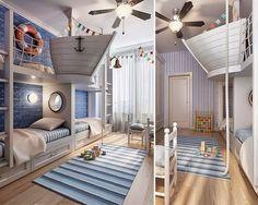 Sogni d'Oro - 10 Idee di design di camere da letto per i bambini - piccolo navigatore