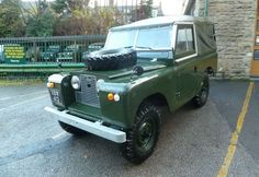 1963 Land Rover Series 2A – Purchased by James in the Yorkshire Dales