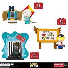 McFarlane Building Sets - South Park - Micro Sets Assortment