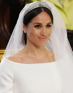 Thanks to Meghan Markle, *This* Is About to be the Big Wedding Dress Trend of 2018 #purewow #royal family #entertainment #news #meghan markle #wedding #dress #prince harry