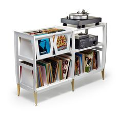 LP-H Vinyl Record and Stereo Console – Wax Rax