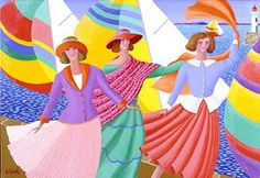 """Sophie Sirot """"Wind in the Sails"""" Born1950 BirthplaceFrance  HomeParis  StylePrimitive"""
