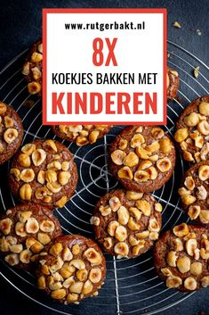 Baking With Kids, Party Cakes, Cookie Recipes, Muffin, Sweets, Snacks, Cookies, Breakfast, Desserts