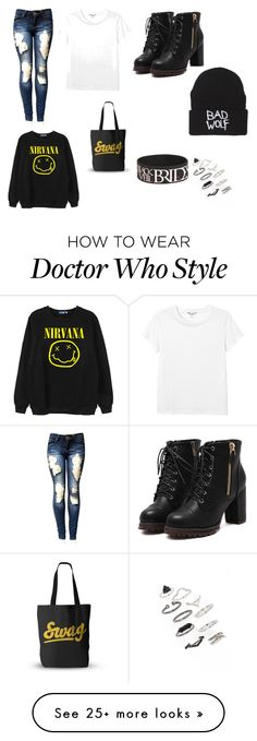 """""""4"""" by rea-park on Polyvore featuring Monki, Chicnova Fashion and Topshop"""