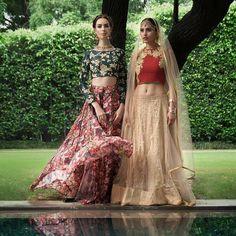 😊They are so beautiful! Saree by Ogaan, Delhi #weddingnet #wedding #india #indian #indianwedding #weddingdresses #mehendi #ceremony #realwedding #lehenga #lehengacholi #choli #lehengawedding #lehengasaree #saree #bridalsaree #weddingsaree #indianweddingoutfits #outfits #backdrops #groom #wear #groomwear #sherwani #groomsmen #bridesmaids #prewedding #photoshoot #photoset #details #sweet #cute #gorgeous #fabulous
