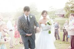 Elegant Southern Farm Wedding: Leslie   Ross