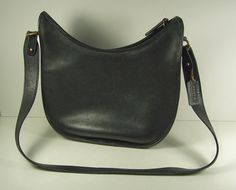 Mom's purse. Simple. Black. Leather. Made in USA #uncommon #contest