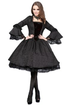 I'd love to go out in this Victorian inspired dress by Dark in Love.