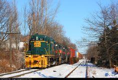 RailPictures.Net Photo: MEC 52 Pan Am Railways EMD GP9 at Waterville, Maine by Justin Franz
