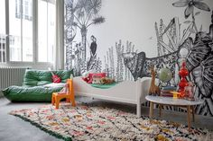 Minakani Lab Wall Murals - Kids Bedroom Ideas (houseandgarden.co.uk)