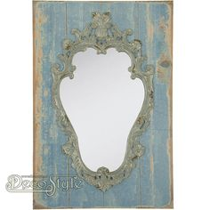 Spiegel Blue Brocant