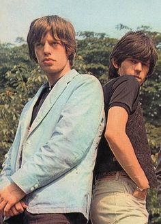 MICK JAGGER& KEITH RICHARDS