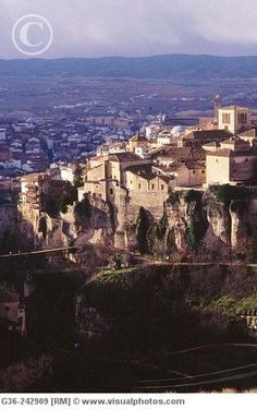 """Quenca, Spain  This is a village built on a cliff with """"Hanging Houses""""  It was very interesting to see."""