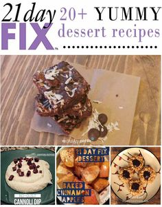 21 Day Fix Dessert Recipe