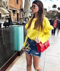 """481 Likes, 11 Comments - Fashion💞Inspiration (@chique_fashion_inspiration) on Instagram: """"Beautiful @iva_jeremic ❤️🌼❤️ via my @fashionista_east ❤️ For shopping link in my bio 👆🏻 • • •…"""""""
