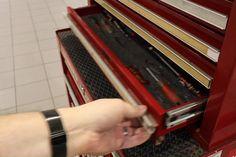 Get your toolbox organised with Shadow Foam Tool Box Foam, Tool Drawer Organizer, Tool Storage, Garage Tools, Garage Shop, Garage Atelier, Garage Workshop Organization, Tool Drawers, Truck Tool Box