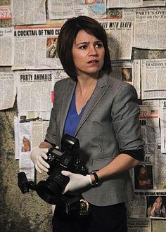 Anna Belknap Season 7 of CSI: NY