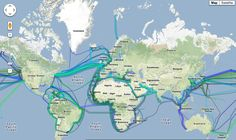 How are undersea cables laid in the oceans, Advantages over Satellite
