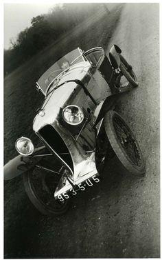 Author - Jacques-Henri Lartigue @- Bibi in my Amil Car Grand Sport, Paris - 1926