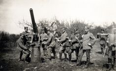 7.7 cm Flak position near Fontaine-Notre-Dame in May 1917