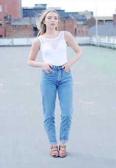 High Waisted Pepe Jeans
