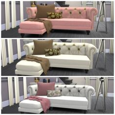 Sofa recolors at Dinha Gamer via Sims 4 Updates  Check more at http://sims4updates.net/furniture/sofa-recolors-at-dinha-gamer/