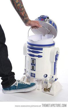 Star Wars R2D2 Trash Can