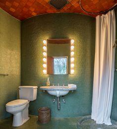 Image result for philip johnson glass house interior