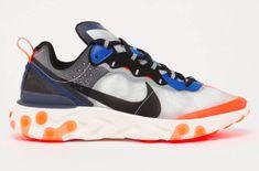 ba64c4b4e8 Nike React Element 87 Thunder Blue Total Orange Arriving Overseas Next Week  The Nike React Element
