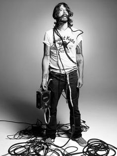 "While I'm unsure of his scent, he's probably the most ""dirty"" of my crushes.  But c'mon, he's Dave Grohl."