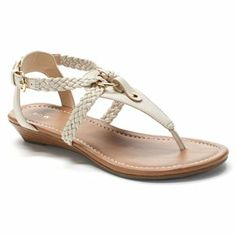Apt. 9 Braided Thong Sandals - Women