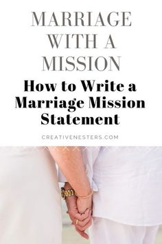 Sit down with your spouse or partner and write a marriage mission statement that will focus your relationship in the same direction. We tell you how in six easy steps. Your marriage mission statement will be the litmus test for all your future actions. Marriage Couple, Strong Marriage, Marriage Life, Marriage Advice, Happy Marriage, Marriage Help, Healthy Marriage, Vision And Mission Statement, Mission Statement Examples