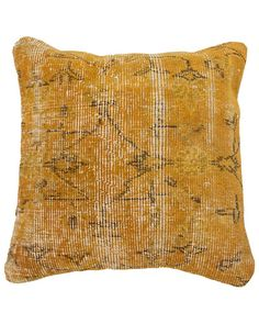 nuLOOM Vintage Overdyed Pillow
