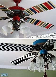 DIY and Crafts picture | DIY and Crafts photos - I have a very ugly ceiling fan at home, I should do this.