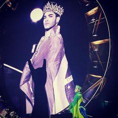 Adam Lambert #queen #Brazil #wewillrockyou #rockinrio here we come!
