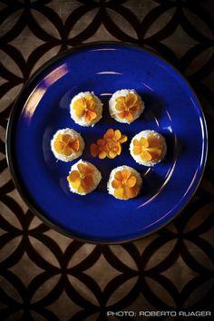 Rice, Rose & Ciboulette Dumplings (Vegan)