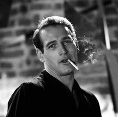 """Paul Newman en """"Un Día Volveré"""" (Paris Blues), 1961"""
