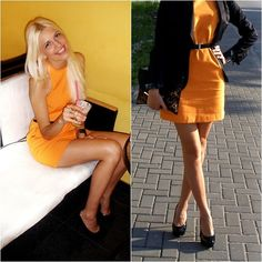 Orange :D (by EDVIJA B.) http://lookbook.nu/look/3504545-Orange-D