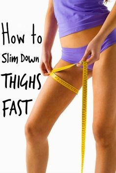 Health Matters: How to Slim Down Thighs Fast