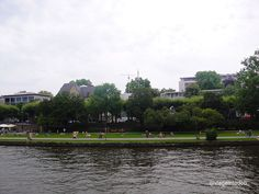 Frankfurt - river bank
